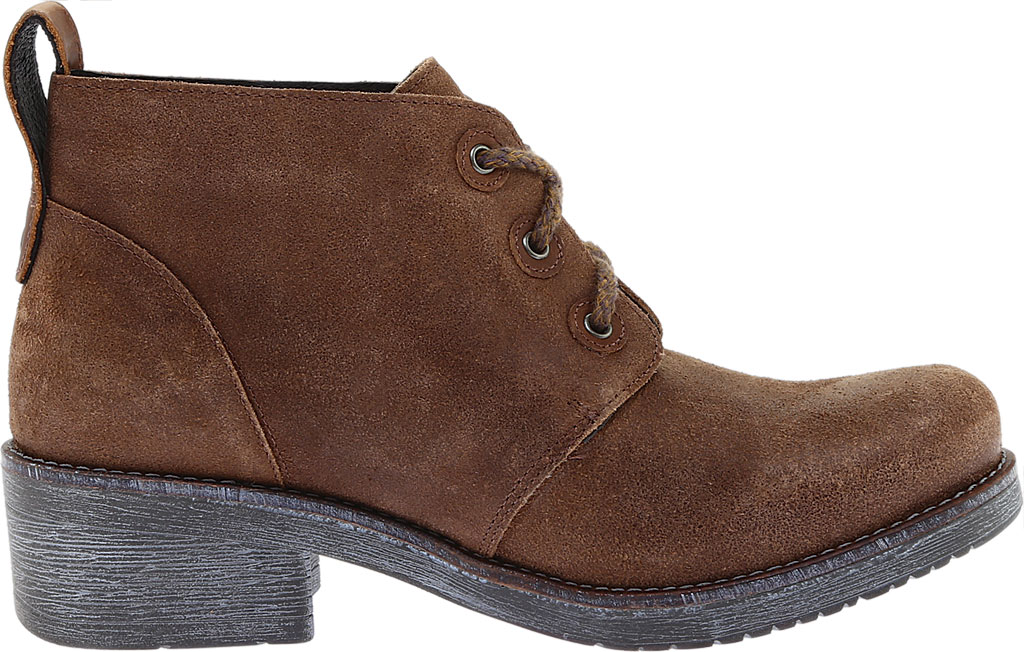Women's Naot Love Bootie, Antique Brown/Saddle Brown Suede, large, image 2
