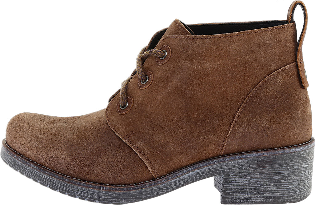 Women's Naot Love Bootie, Antique Brown/Saddle Brown Suede, large, image 3