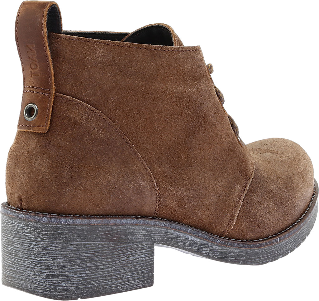 Women's Naot Love Bootie, Antique Brown/Saddle Brown Suede, large, image 4