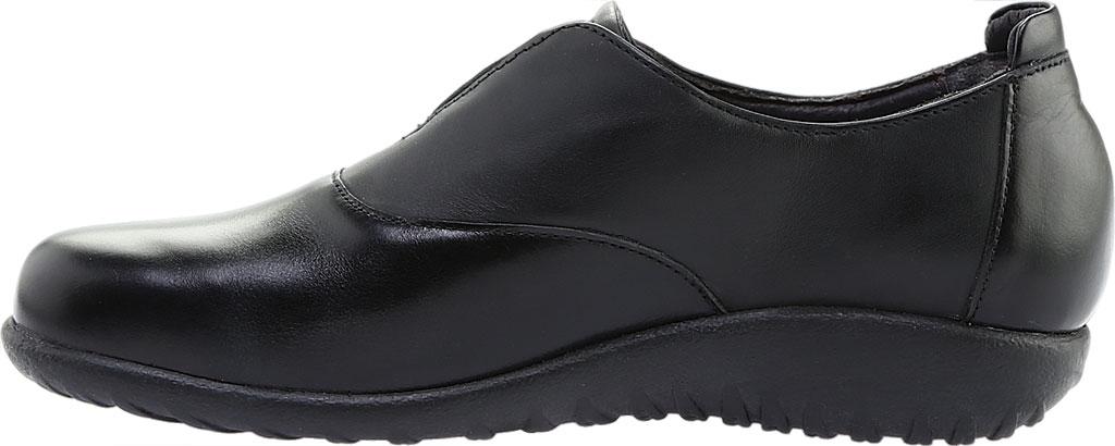 Women's Naot Karo Slip-On, Jet Black/Black Madras, large, image 3