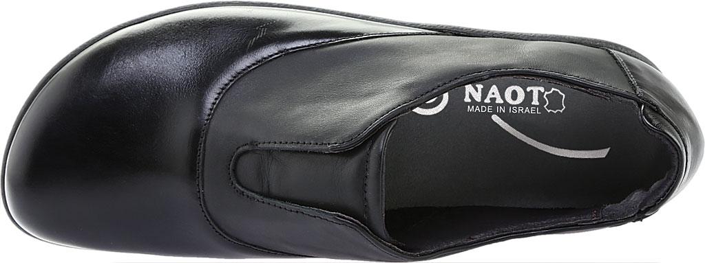 Women's Naot Karo Slip-On, Jet Black/Black Madras, large, image 5
