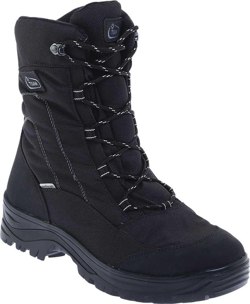 Men's Naot Stratton Snowbird Boot, Black Polyester/Nylon, large, image 1