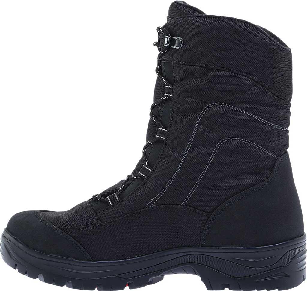 Men's Naot Stratton Snowbird Boot, Black Polyester/Nylon, large, image 3