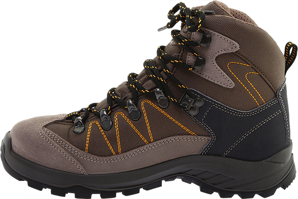 Women's Naot Navigate Odyssey Hiking Boot, Brown/Tan Suede/Polyester, large, image 3
