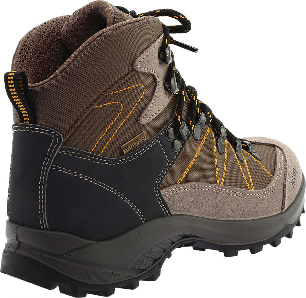 Women's Naot Navigate Odyssey Hiking Boot, Brown/Tan Suede/Polyester, large, image 4