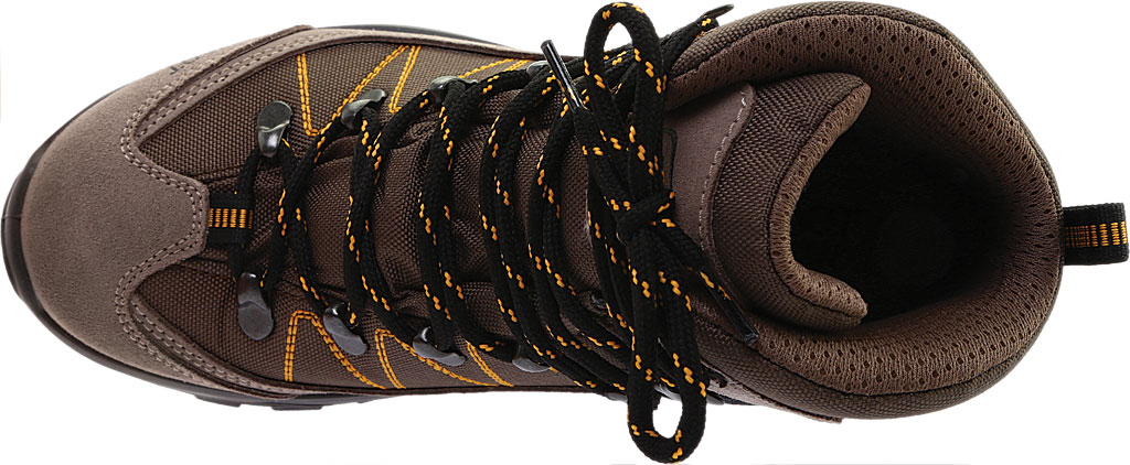 Women's Naot Navigate Odyssey Hiking Boot, Brown/Tan Suede/Polyester, large, image 5