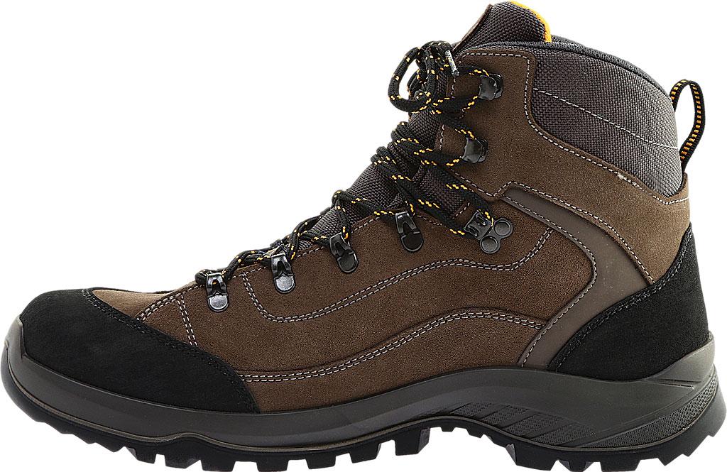 Men's Naot Hiker Odyssey Boot, Black/Tan/Grey Suede/Polyester, large, image 3