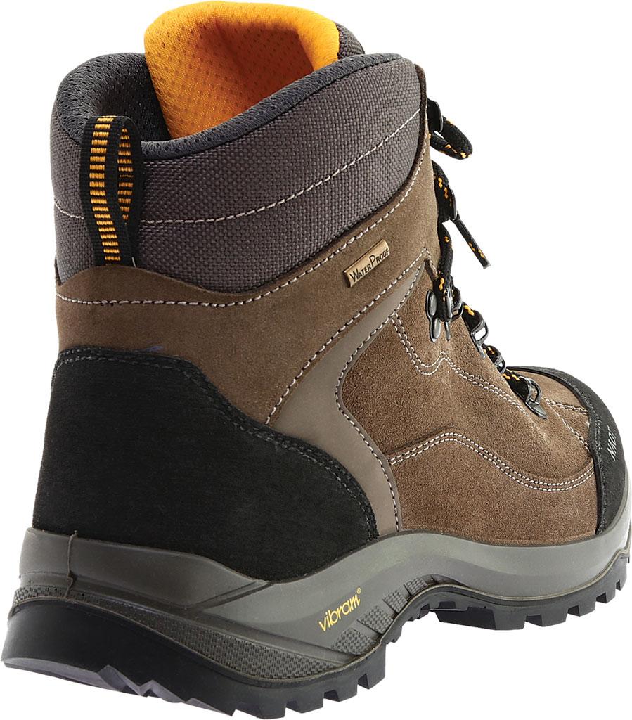 Men's Naot Hiker Odyssey Boot, Black/Tan/Grey Suede/Polyester, large, image 4