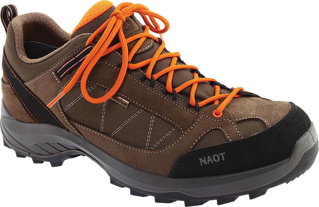 Men's Naot Route Trail Shoe, Brown/Tan/Black Polyester/Nylon, large, image 1