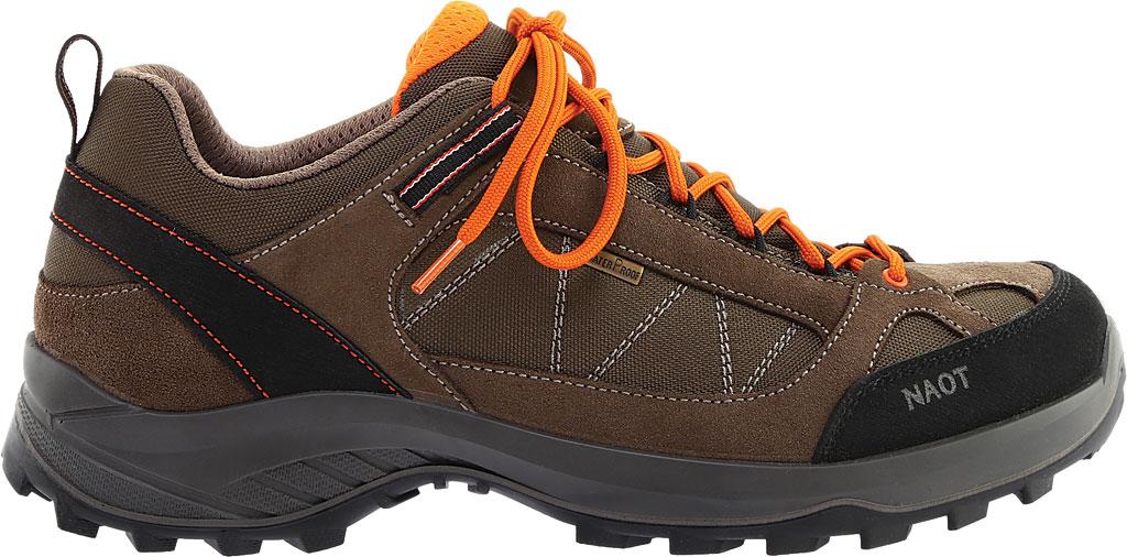 Men's Naot Route Trail Shoe, Brown/Tan/Black Polyester/Nylon, large, image 2