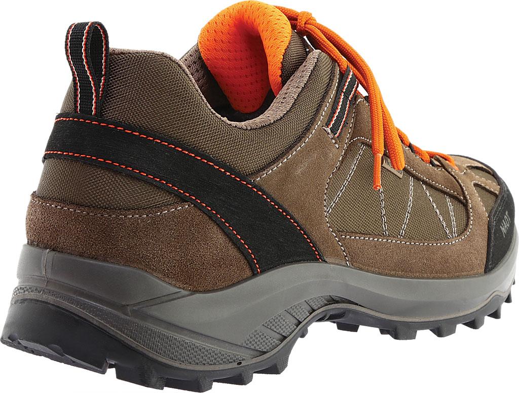 Men's Naot Route Trail Shoe, Brown/Tan/Black Polyester/Nylon, large, image 4