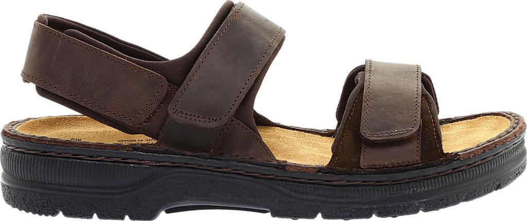 Men's Naot Arthur Ankle Strap Sandal, Crazy Horse/Hash Leather, large, image 2
