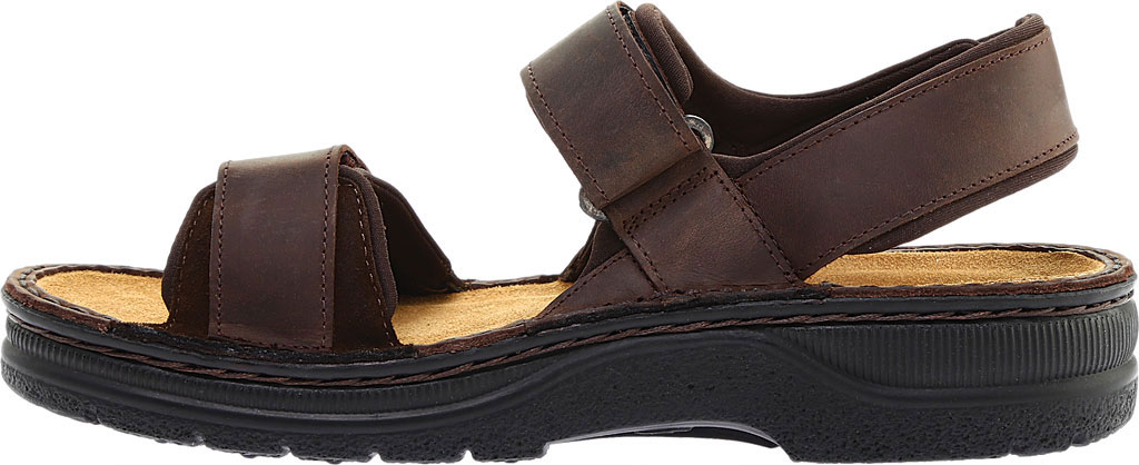 Men's Naot Arthur Ankle Strap Sandal, Crazy Horse/Hash Leather, large, image 3