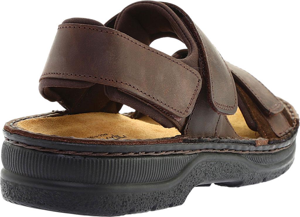 Men's Naot Arthur Ankle Strap Sandal, Crazy Horse/Hash Leather, large, image 4