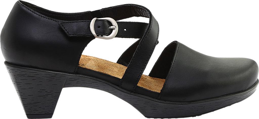 Women's Naot Surreal Closed Toe Sandal, Black Raven Leather, large, image 2