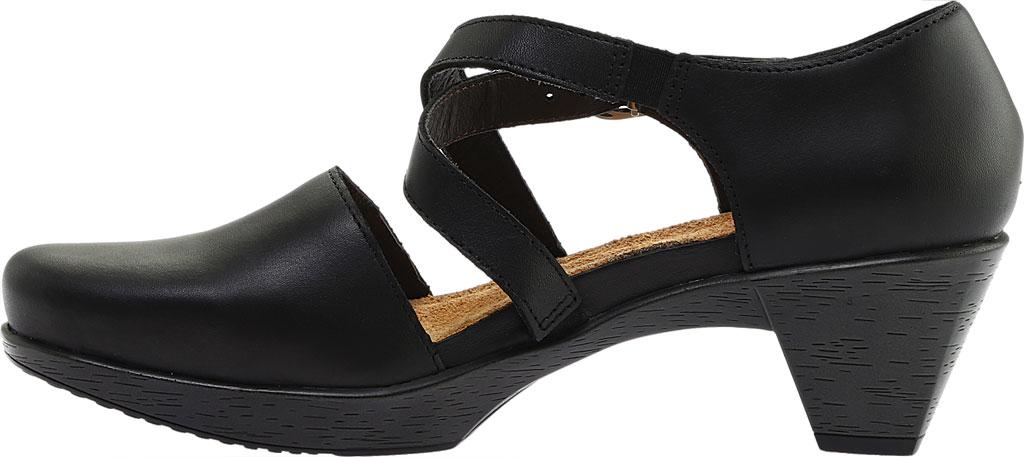 Women's Naot Surreal Closed Toe Sandal, Black Raven Leather, large, image 3