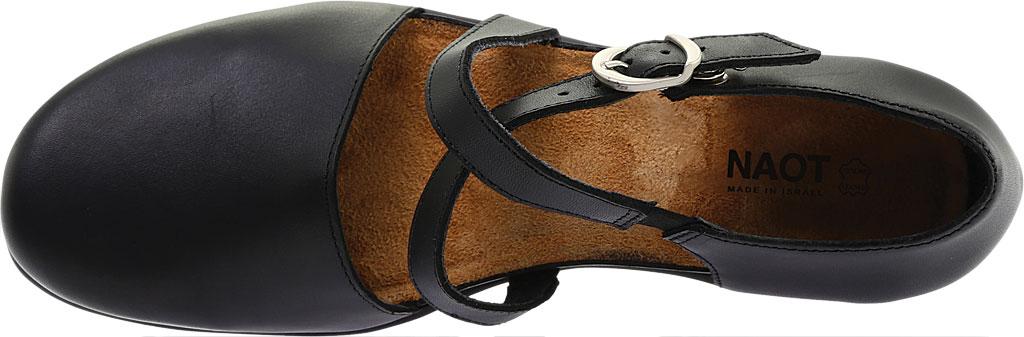 Women's Naot Surreal Closed Toe Sandal, Black Raven Leather, large, image 5