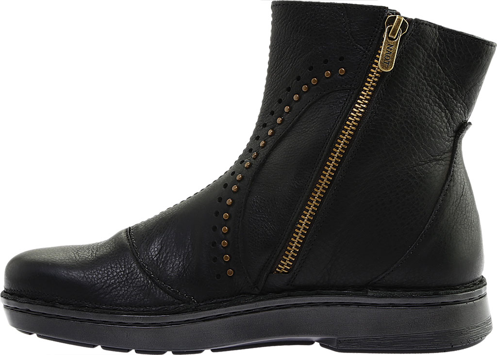 Women's Naot Cetona Bootie, Soft Black Smooth Leather, large, image 3