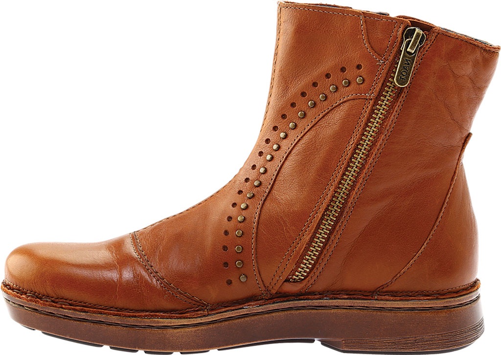 Women's Naot Cetona Bootie, Soft Maple Smooth Leather, large, image 3