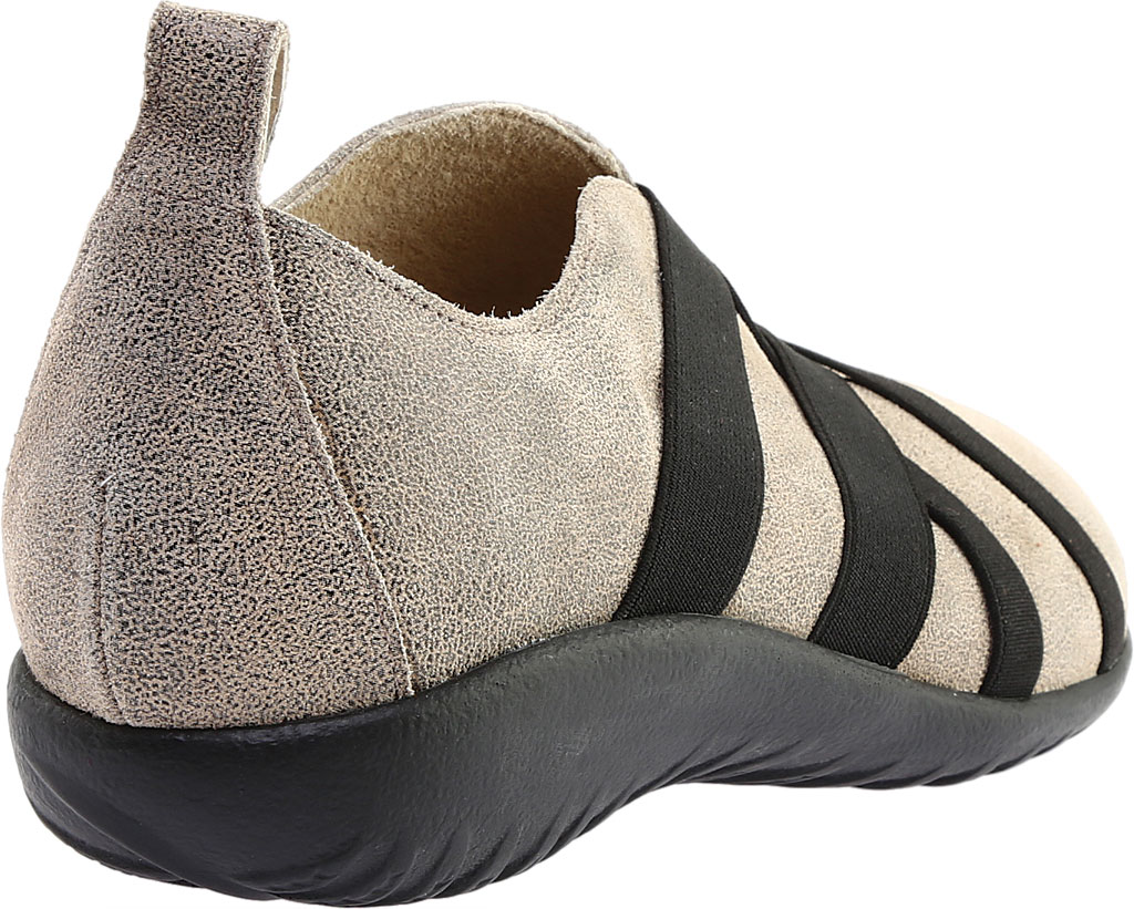 Women's Naot Apera Slip On, Speckled Beige Leather, large, image 4