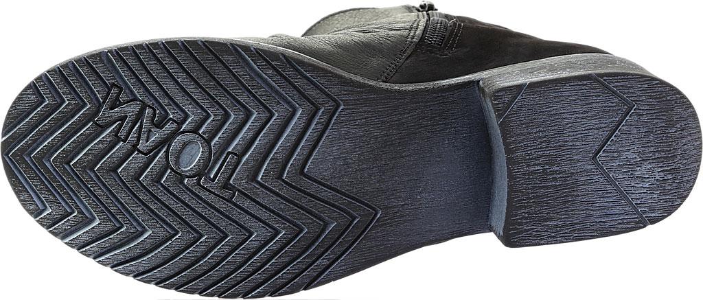 Women's Naot Artsy Ankle Boot, Soft Black Leather/Black Nubuck, large, image 6