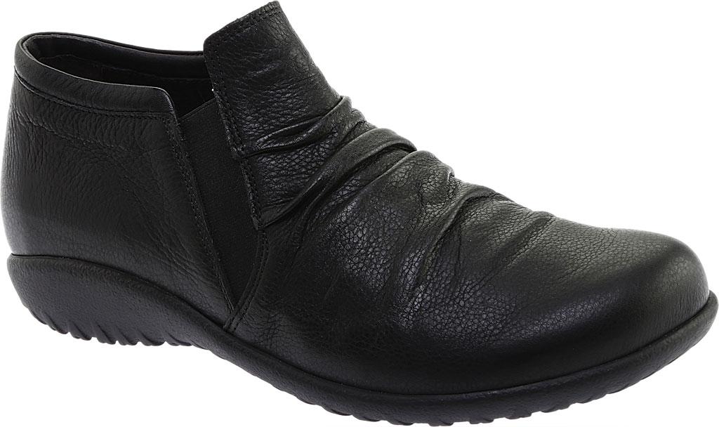 Women's Naot Terehu Slip On, Soft Black Leather, large, image 1