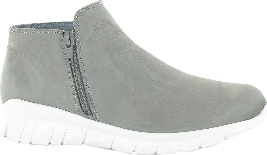 Women's Naot Zodiac Zip Up Sneaker, Light Grey Nubuck, large, image 1