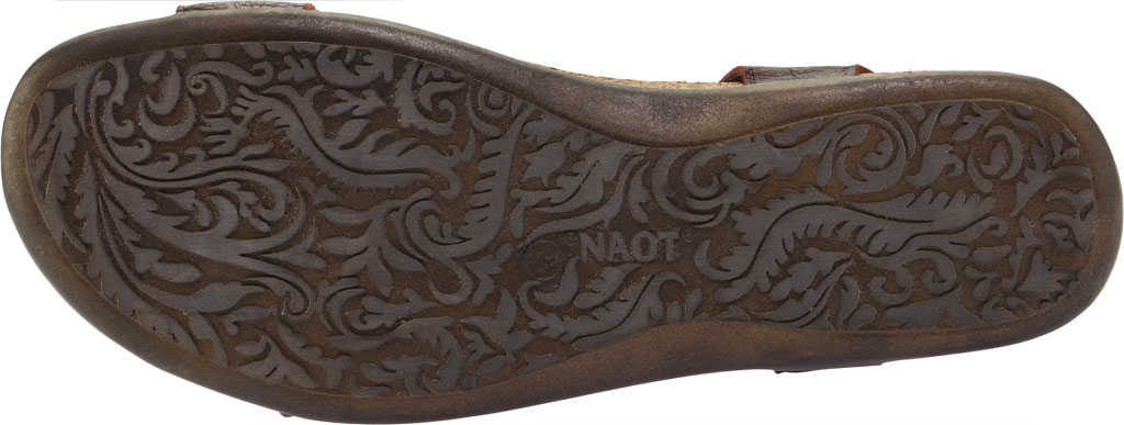 Women's Naot Courtney Hook and Loop Sandal, Soft Brown Leather, large, image 6
