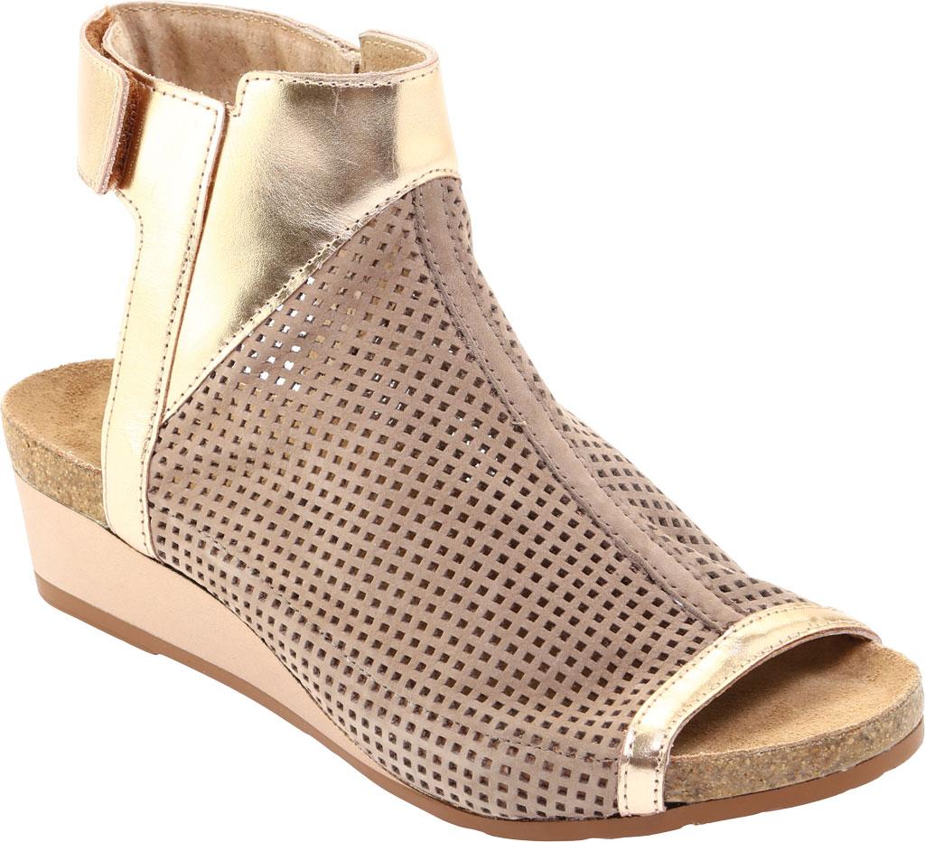 Women's Naot Oz Perforated Wedge Sandal, , large, image 1