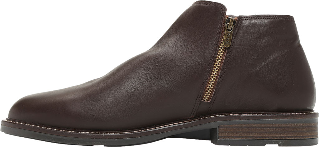 Men's Naot General Ankle Boot, Water Resistant Brown Leather, large, image 3