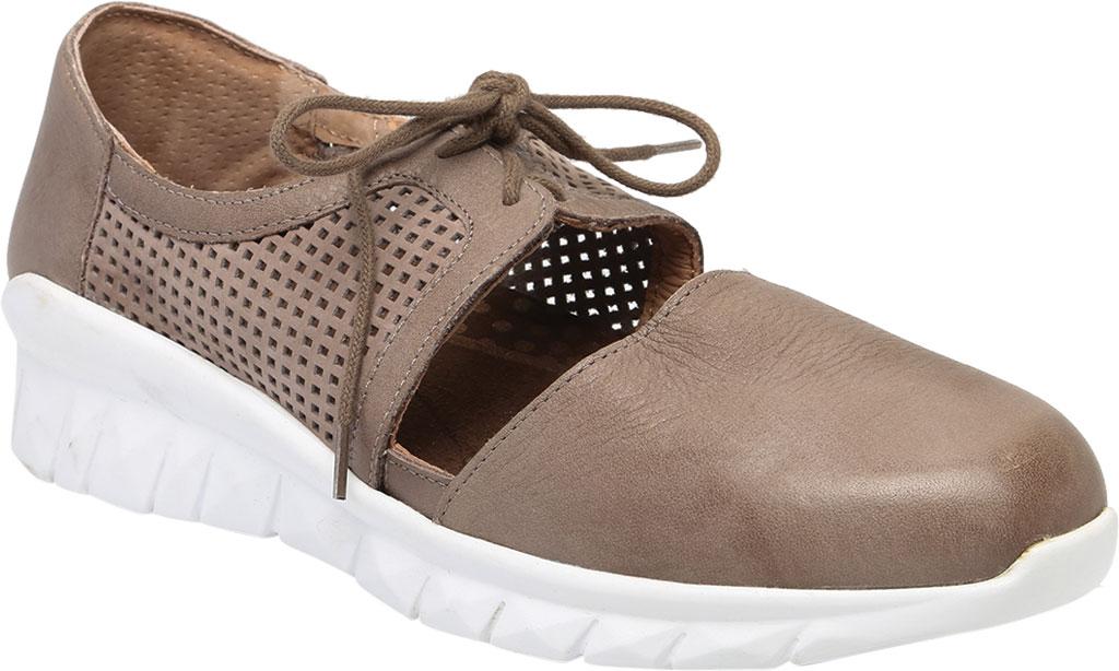 Women's Naot Ophelia Vented Sneaker, Soft Stone/Perf Stone/Stone Nubuck/Leather, large, image 1