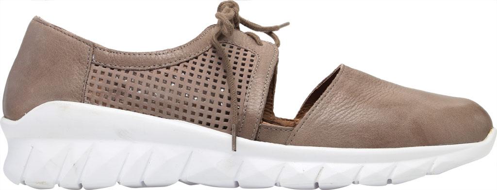 Women's Naot Ophelia Vented Sneaker, Soft Stone/Perf Stone/Stone Nubuck/Leather, large, image 2
