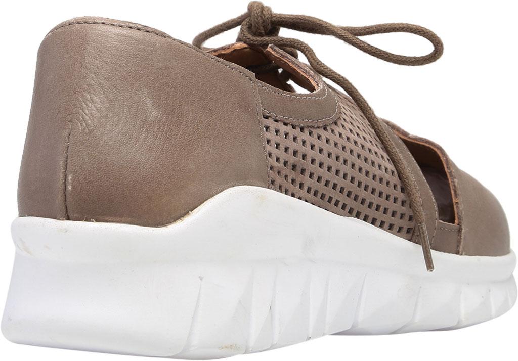 Women's Naot Ophelia Vented Sneaker, Soft Stone/Perf Stone/Stone Nubuck/Leather, large, image 4