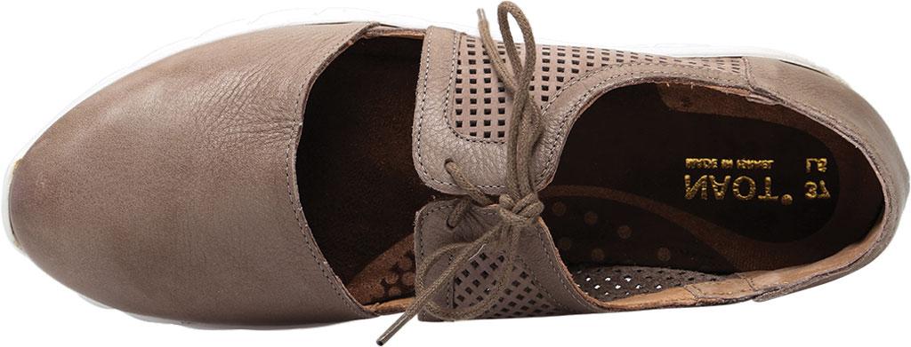 Women's Naot Ophelia Vented Sneaker, Soft Stone/Perf Stone/Stone Nubuck/Leather, large, image 5