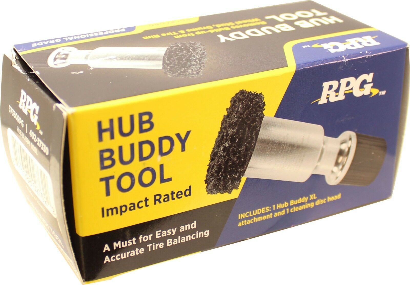 OEM Hub Buddy Impact Driven Hub and Stud Surface Cleaner with 3 Cleaning Discs