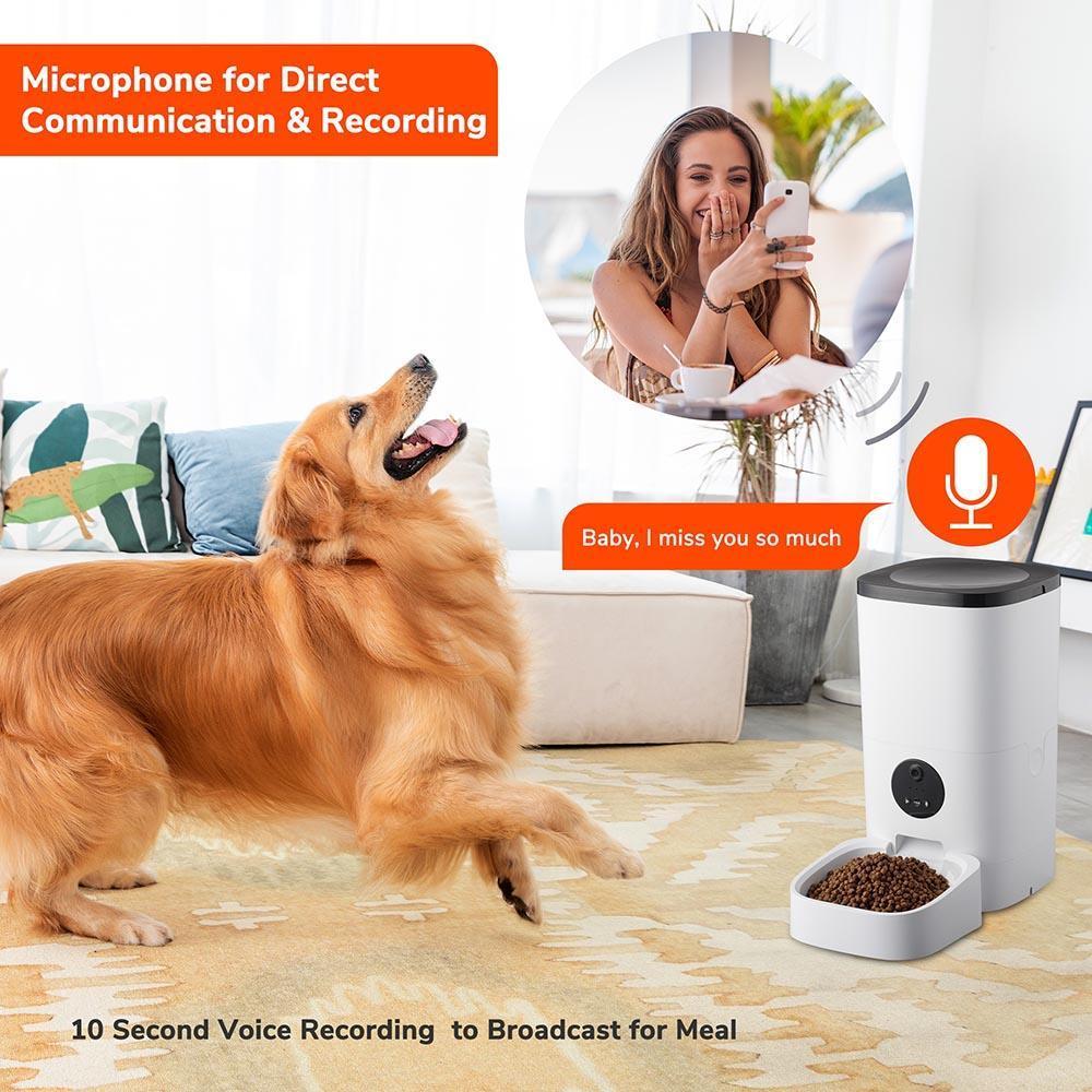 yescomusa, automatic pet feeder,