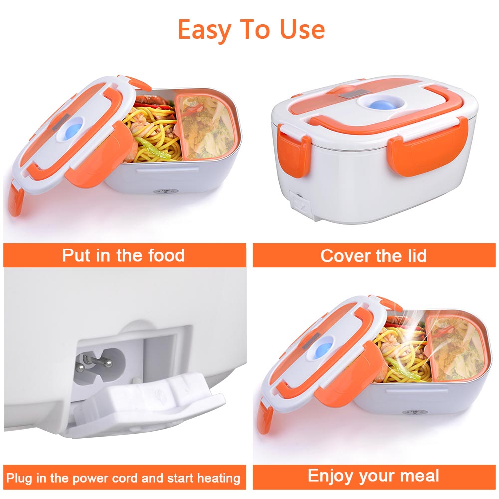 yescomusa electric lunch box, hiking in California