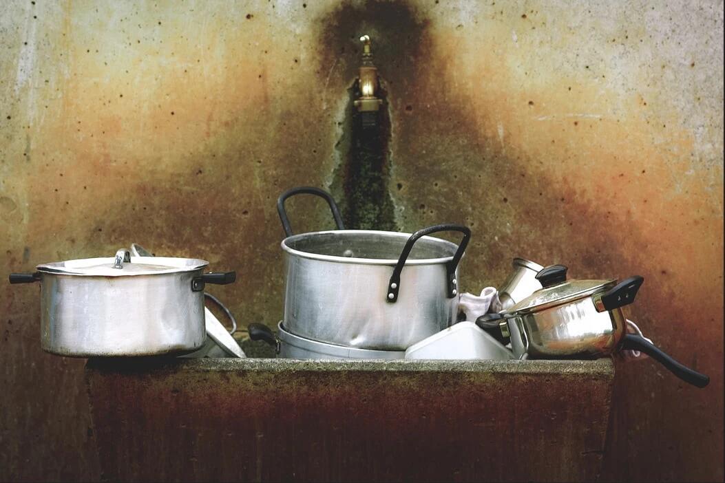 dirty kitchen, yescomusa, kitchen sink