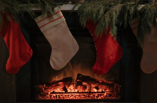 fireplace, christmas tree, christmas tree recycling