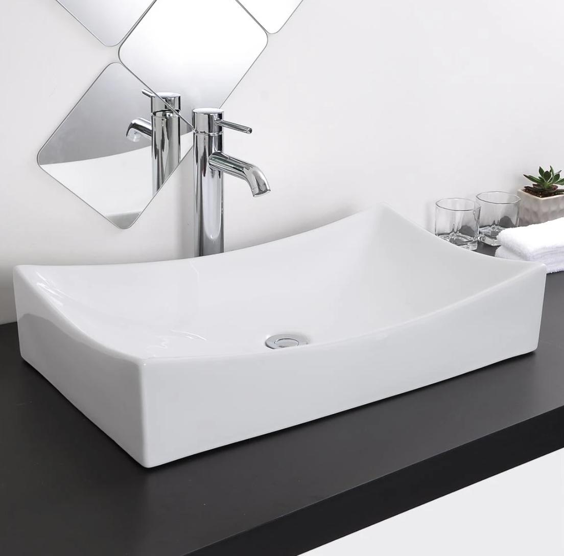 yescomusa sink, rectangle sink, wholesale bathroom