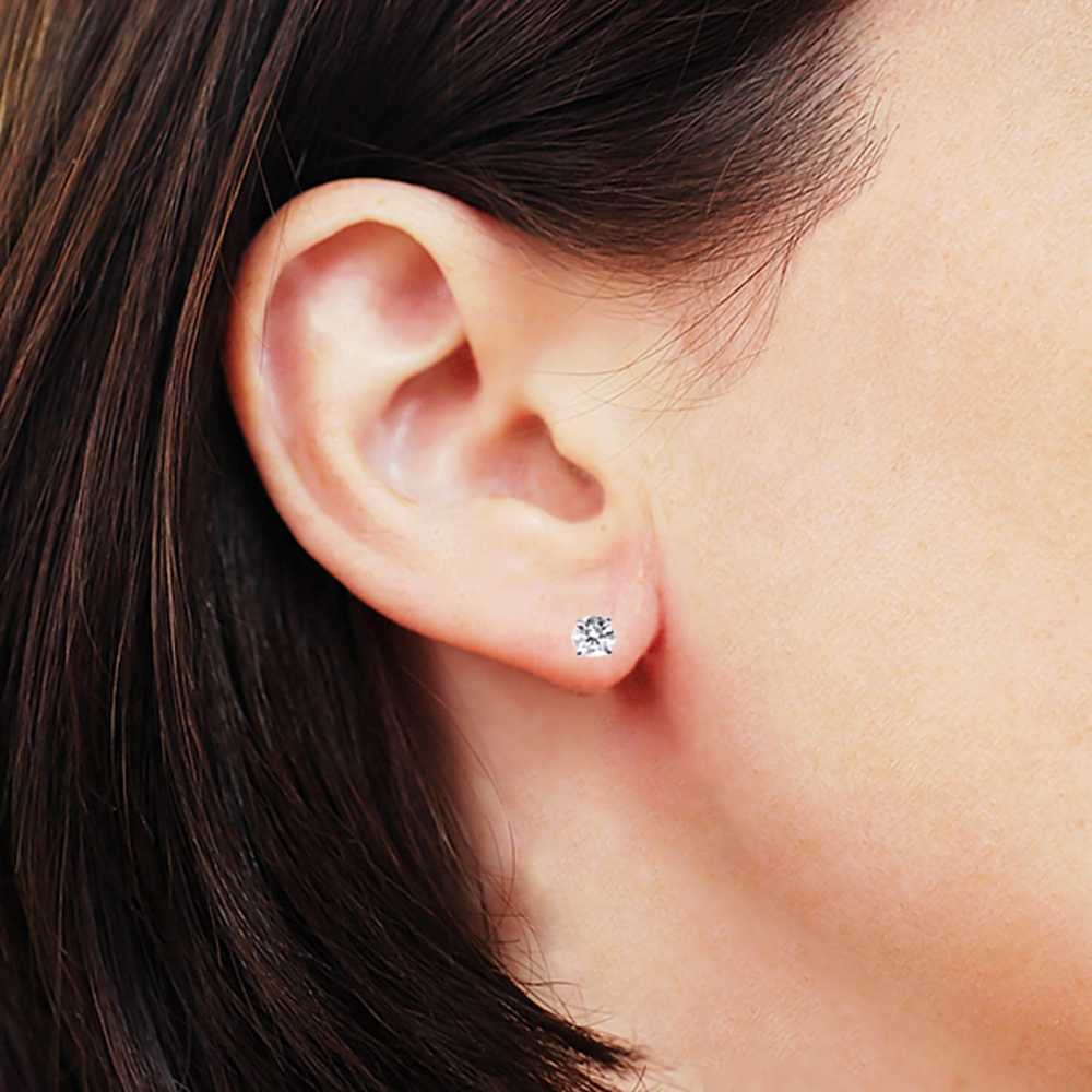 2 Ctw Diamond Stud Earrings