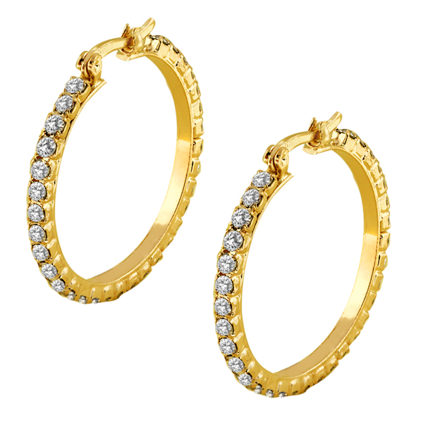 3 inch gold hoop earrings beautiful 20mm 3 4 inch gold color with white 7143