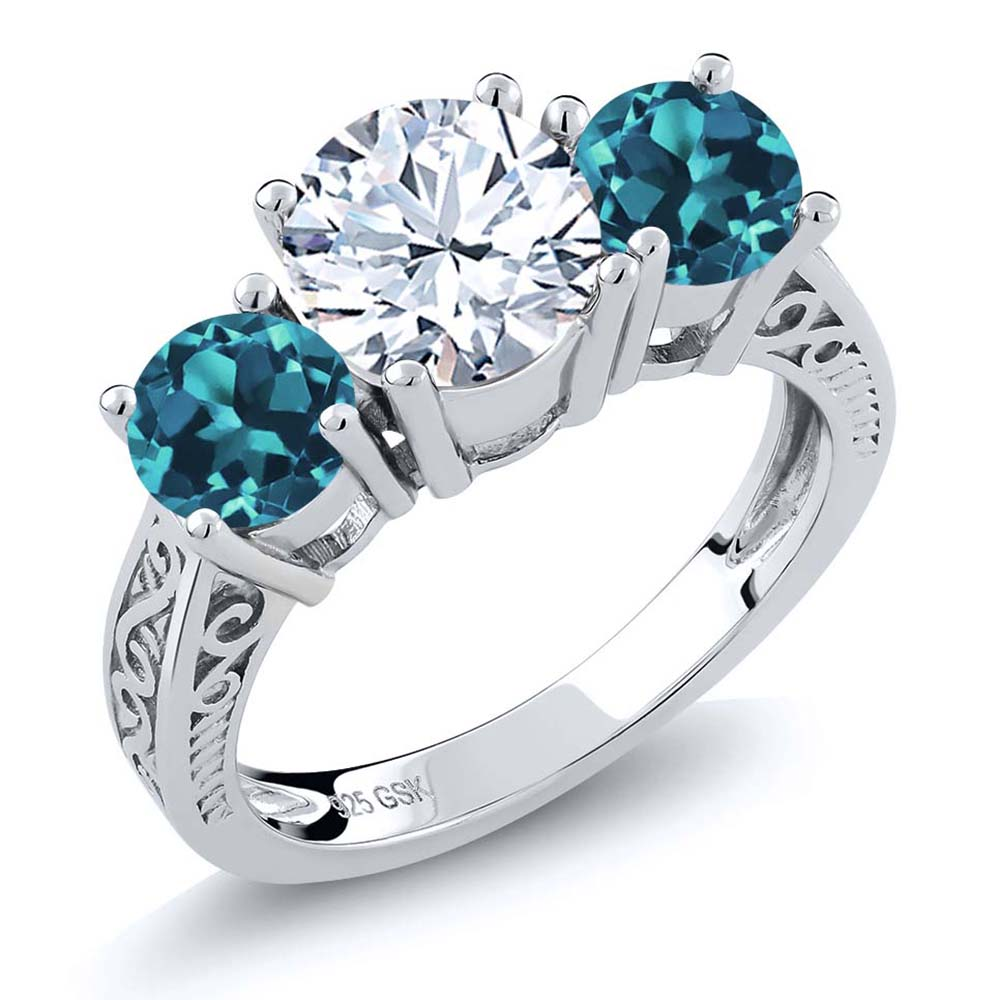 mm jewelry gold london dp blue ring rings diamond natural white com sizes topaz amazon cut cushion