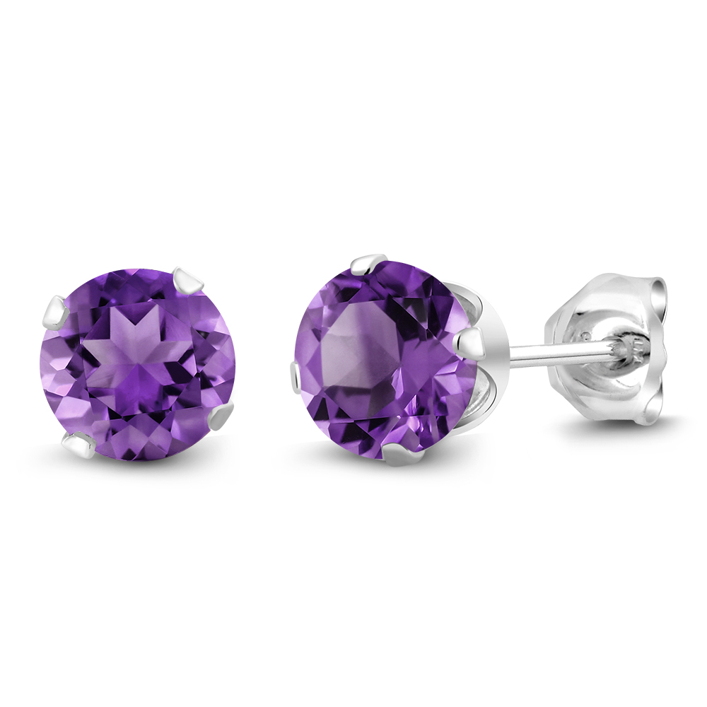 studs purple item jewelry gifts steel crystal gem piercings ear lady in cartilage from surgical pure earrings stud spiral fashion earing for small