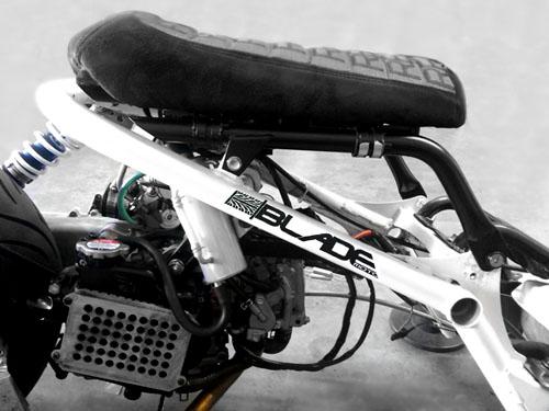 Blade Moto Zangetsu Ultra Low Honda Ruckus Seat Frame | eBay