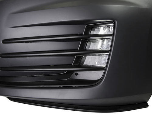 2015 Vw Golf Mk7 Gti Style Front Bumper Kit W Led Fog