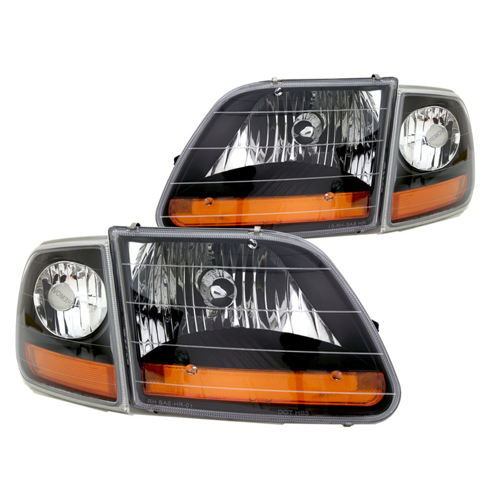1997 2003 Ford F 150 Black Headlight Special Edition Harley Davidson 2004 Style Kit