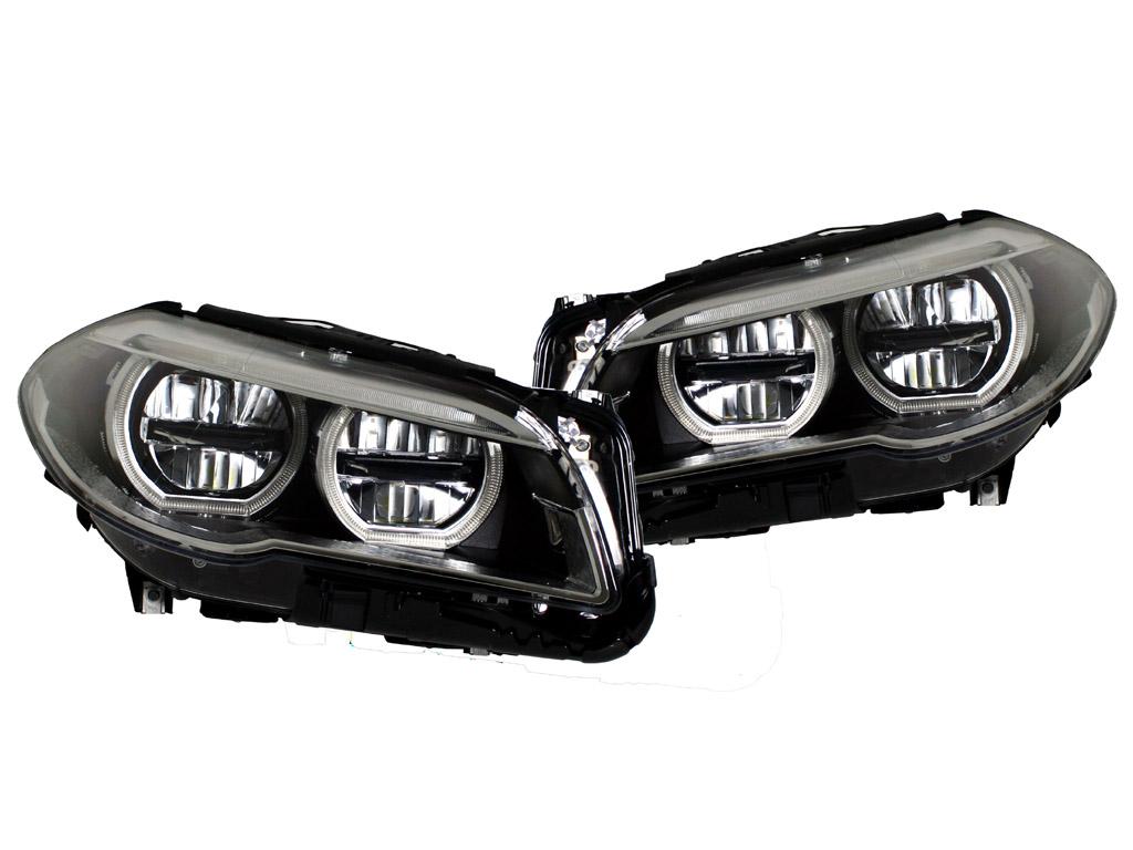 projector hl itm onyx headlights coupe series w bmw halo led corner black bk