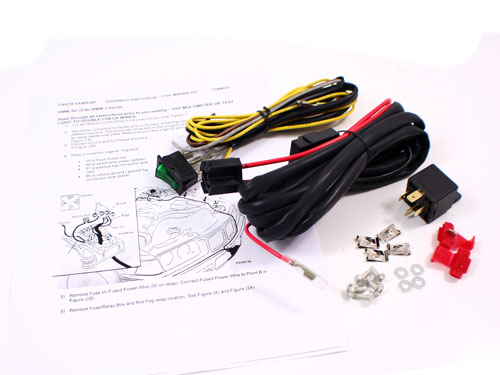 Bmw e46 fog lamp wiring smart wiring diagrams 92 99 bmw e36 3 series fog light wiring harness kit w switch rh ebay com wiring a lamp fog light relay wiring diagram asfbconference2016 Images