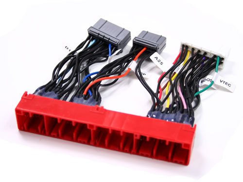 hwrh2a(1) obd2a to obd1 jumper conversion harness b16a h22a b18c ebay b18c wiring harness at n-0.co